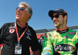 Racing great Mario Andretti is one of Hinchcliffe's mentors. With a winning style and smart marketing, Hinchcliffe has made a name for himself on the IndyCar circuit, attracting a fervent fan-base and corporate sponsors.