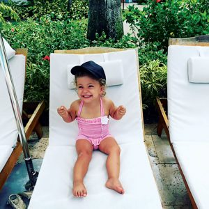 Seeing the excitement of her 3-year-old daughter, Phoenix, was a highlight for Sursok.