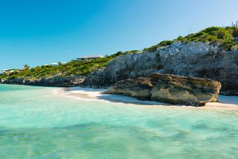 Rock House will be nestled cliff side on Providenciales' International Drive
