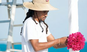 Joseph Timothy Lewis Jr., a Providenciales native, started Shay's Decor to help couples handle logistics – down to the last beautiful detail – for their wedding celebrations.