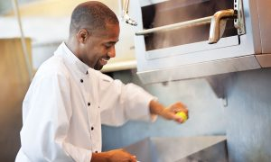 Executive Sous Chef Damion Carter secured his second savory win with a fish dish at this year's Showcase.