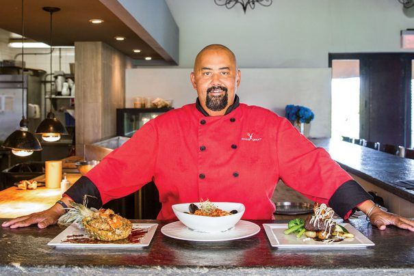 Pavilion chef's style draws from life experience