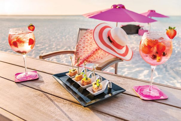 pink perfection at Wymara resort